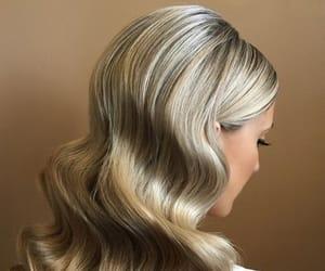 black, blond, and bride image