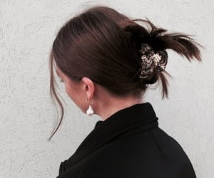 hair, girl, and accessories image