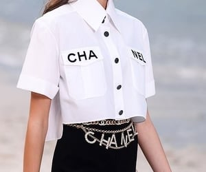 chanel, fashion, and model image