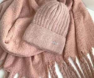 furry balls, pom pom beanies, and neutral knitted beanie image