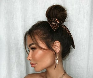 brown hair, accessories, and coke image