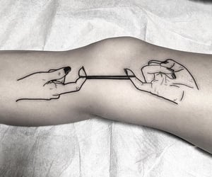 hands, Tattoos, and ink image