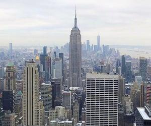 city, newyork, and skyline image