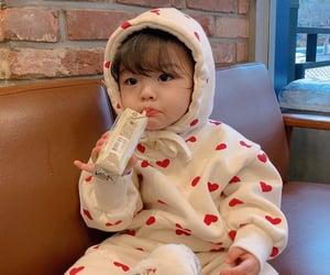 asian baby, korean girl, and korean baby image