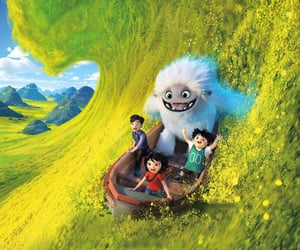 abominable, dreamworks, and snow image