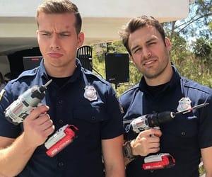911, ryan guzman, and oliver stark image