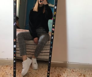 air force, mirror, and pants image