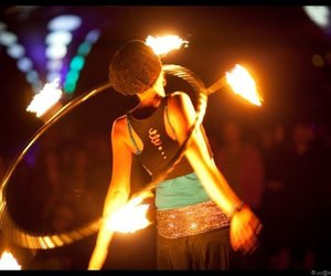 festival, girl, and ozora image