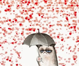 animated, lonely, and grumpy cat image