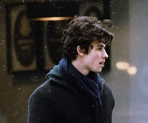 shawn mendes, cold, and snow image