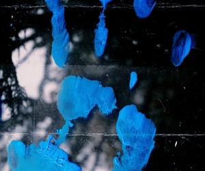 blue, hand, and handprint image