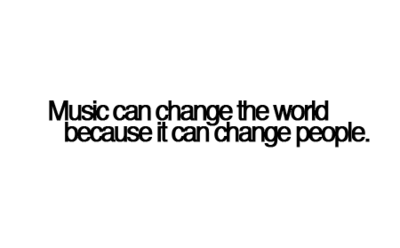 music, people, and world image
