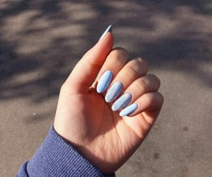 manicure, style, and nails image