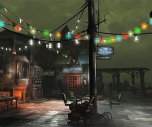 bar, fallout, and christmas image