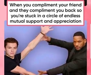 appreciation, circle, and compliment image
