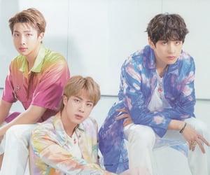 bts, seokjin, and taehyung image