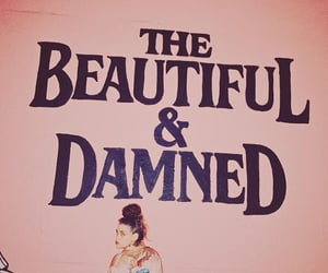 the beautiful and damned, words, and tb&d image