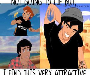 attractive and disney image