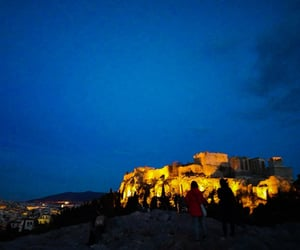 acropolis, beautiful, and city image
