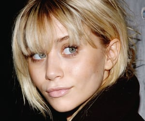 ashley olsen, edits, and bangs image