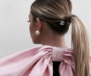 chanel, fashion, and hair image