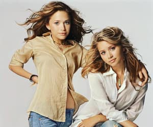 ashley olsen, twins, and mary-kate olsen image
