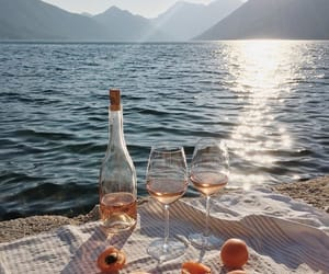 drink, ocean, and summer image