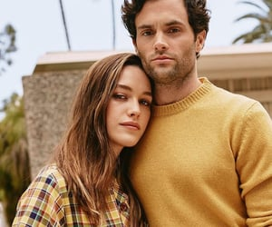 Penn Badgley, victoria pedretti, and you image