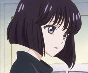 aesthetic and sailor saturn image
