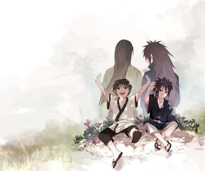 anime, hashirama, and naruto image