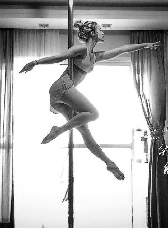 dancing, dance, and pole image