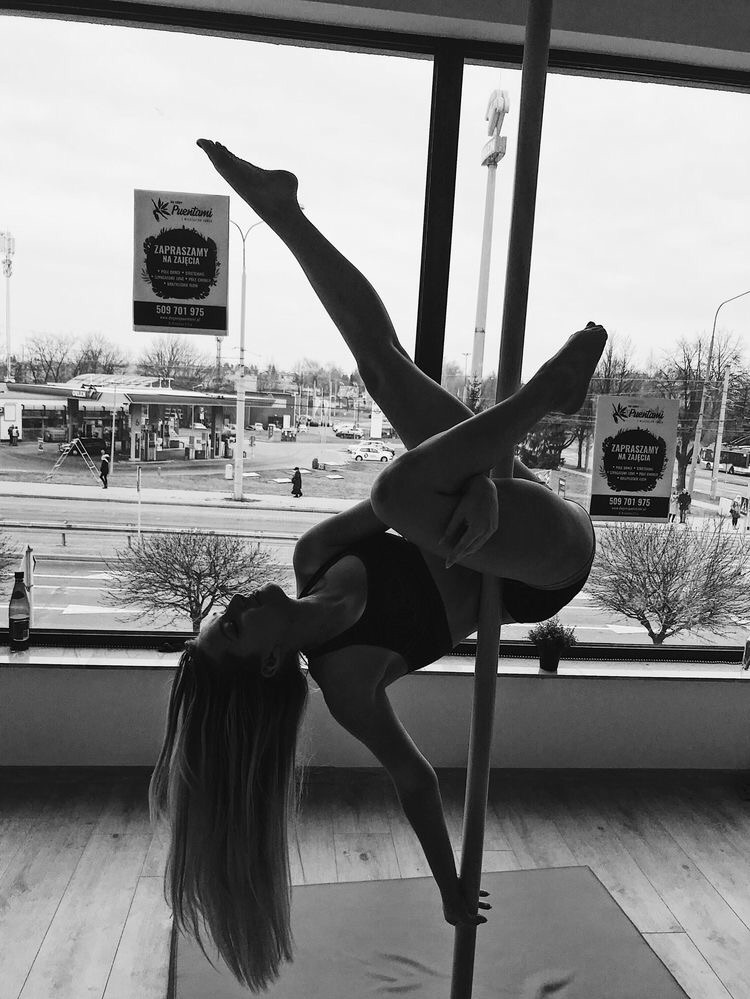 dance, pole, and pose image
