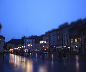 city, Krakow, and square image