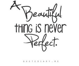 quote, beautiful, and perfect image