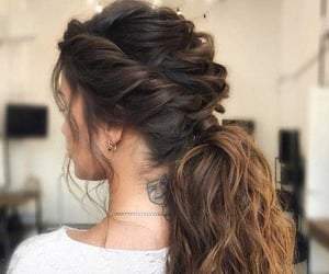 hairstyle, Piercings, and tattoo image
