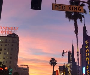 aesthetic, california, and city image