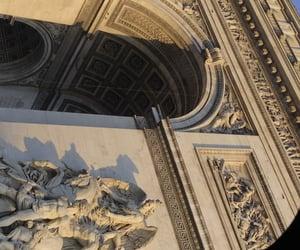 arc de triomphe, paris, and wow image