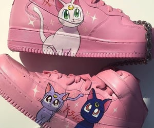 pink, shoes, and anime image
