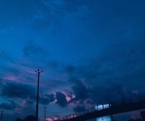 sky, blue, and aesthetic image