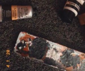 acrylic paint, sad, and aesthetic image