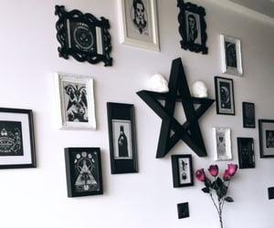 decor, goth, and dark house image