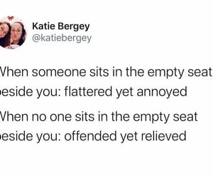 bus, funny, and introvert image
