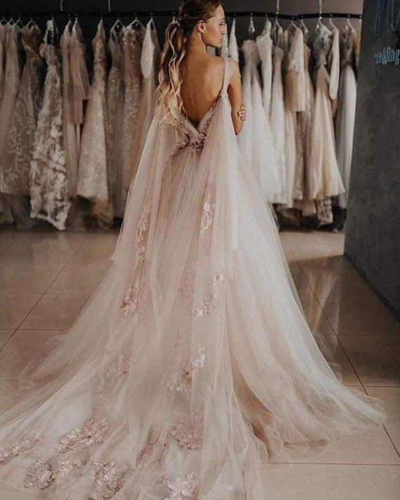 aesthetic, bridal, and dream wedding image