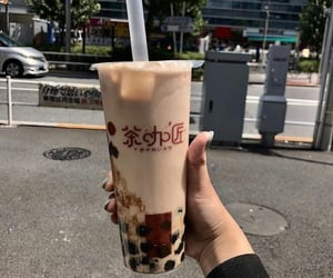 aesthetic, bubble tea, and drink image