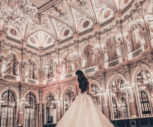 fashion, girl, and architecture image