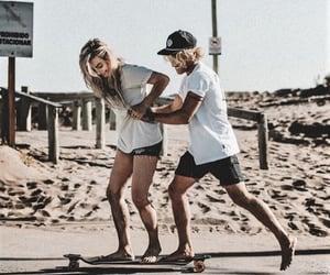 beach, best friends, and bffs image