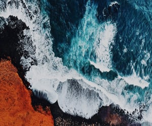 aesthetic, iphone, and ocean image