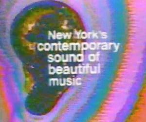 music, vintage, and acid image