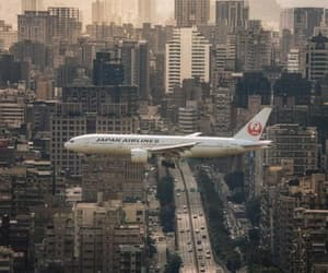 airplane, cities, and travel image