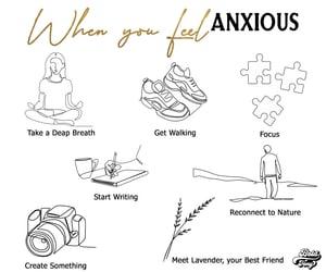 art, illustration, and meditation image